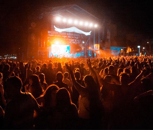 La photo de concert