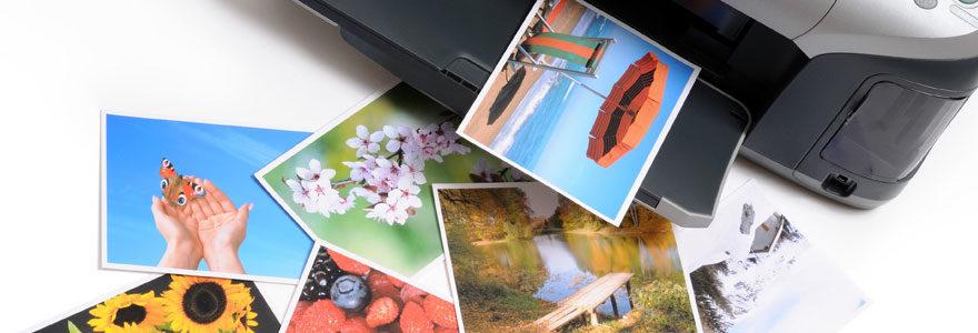 Impression des photos
